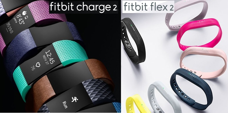Que tan sano quieres estar Fitbit Charger 2 y Flex 2